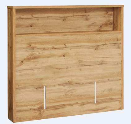 Nova K/Single Full Headboard Natural Wood 1292X120
