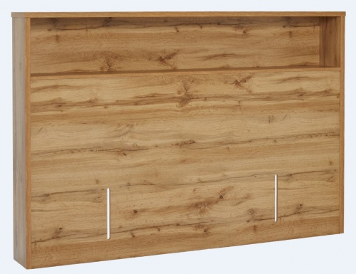 Nova King Full Headboard Natural Wood 1892X1200