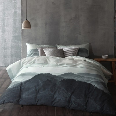Nyoka 300 Thread Ct Super King Duvet Cover Set