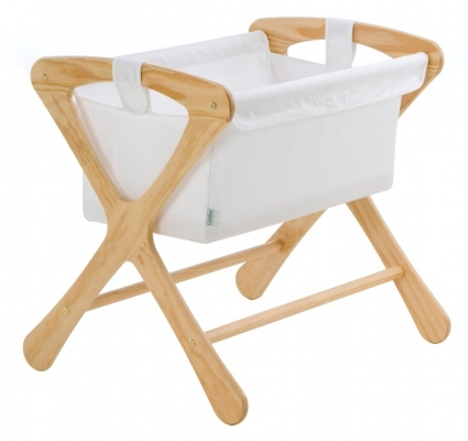 Cariboo Classic Bassinet Natural Nz Made