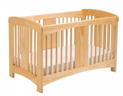 Cariboo Classic Cot In Natural Stain Nz Made