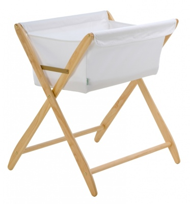 Cariboo Folding Bassinet Natural Stain Nz Made