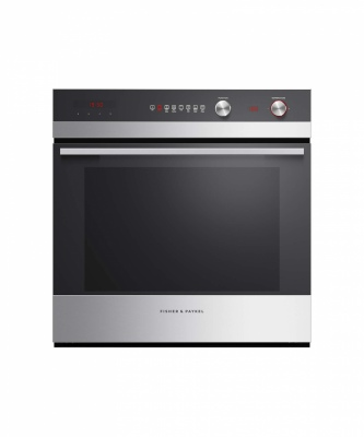 F&P Single Built In Oven 85L 7 Funct 598X596X565