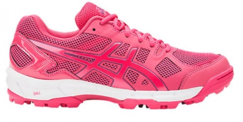 Asics Gel Lethal Elite 6 Rouge Womens Grass Turf