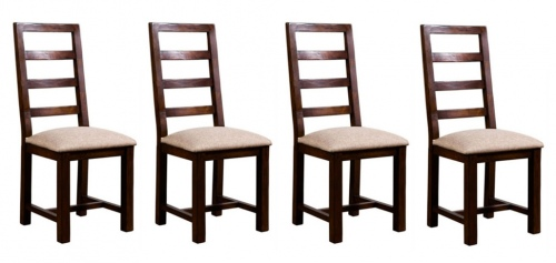 Post And Rail Dining Chair Set Of 4