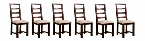 Post And Rail Dining Chair Set Of 6