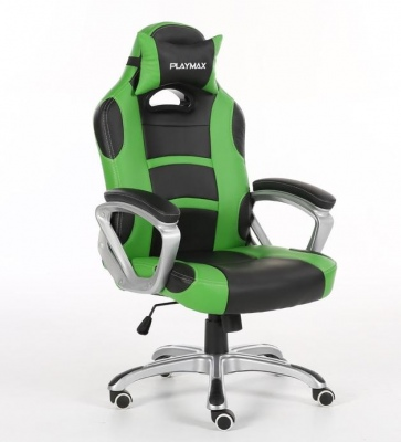Playmax Gaming Chair Black And Green