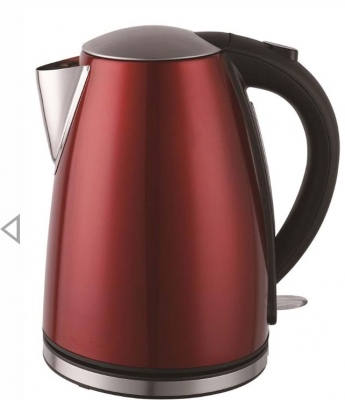 Shefield Cordless Kettle 1.7 Lt Red
