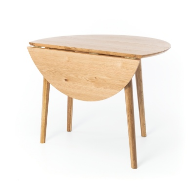 Nordik Dropleaf Table 1M Round 32.5 Drop