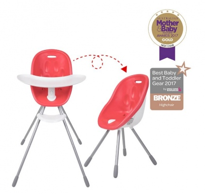 Phil & Teds Poppy High Chair Cranberry