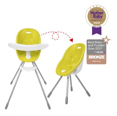 Phil & Teds Poppy High Chair Lime