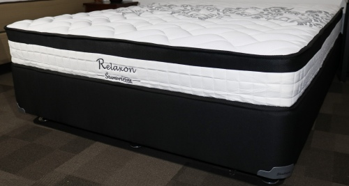 Relaxon Standard Single Mattress And Base