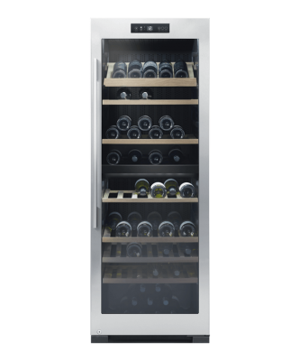 F&P Wine Chiller 127 Bottle Freestand 1660X595X639