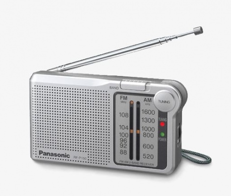 Panasonic Portable Radio Silver