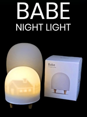 Babe Kids Night Light Tap To Turn On Rechargable