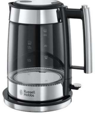 Russell Hobbs Elegance 1.7Lt Glass Body Kettle