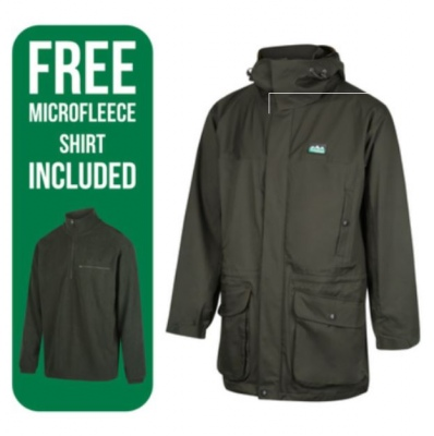 Ridgeline Mens Typhoon Jacket + Micro Fleece 5Xl