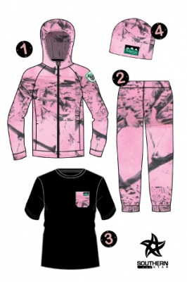 Ridgeline Kids 4Pc Pursuit Pack Pink Camo 8Yr