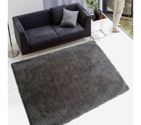 Serenity Steel Grey 2.0X3.0M Xtra Large Rug