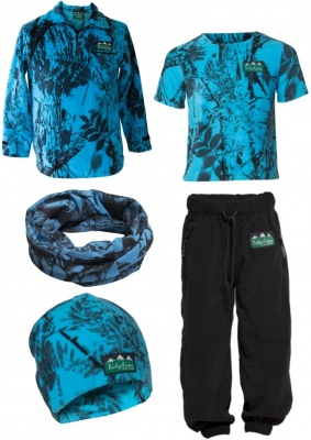 Ridgeline Kids Little Critter Blue Camo 8Yr Old