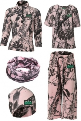 Ridgeline Kids Little Critter Pink Camo 10YR Old
