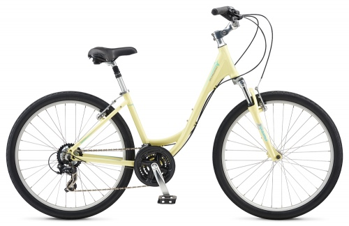 Schwinn Sierra 1 Sherbert Yellow Small Urban Bike