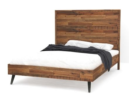Rustic Skandy Queen Sized Slatbed 1630X2200X1340H