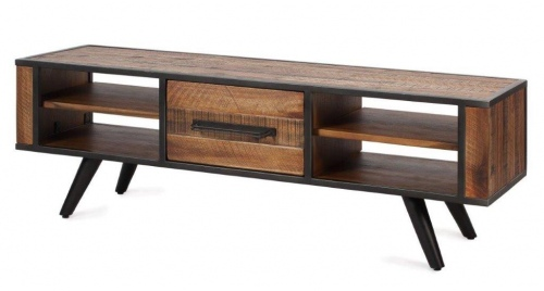 Rustic Skandy Acaica Low Tv Cabinet 1500X400Xh480