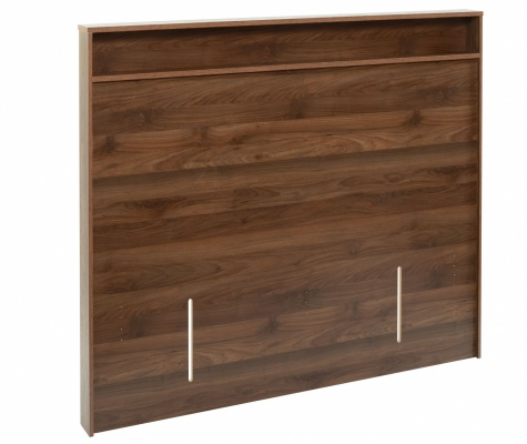 Skov King Single Headboard Dark Walnut 1170X1266X1