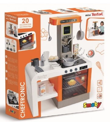 Smoby Tefal Cheftronic Kitchen 20Pc Playset