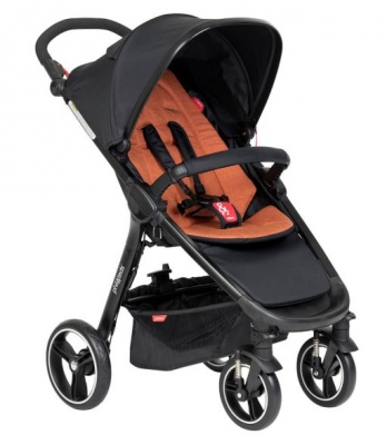 Phil & Teds Smart Buggy With Rust Liner