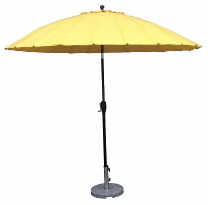 Beijing Oriental Outdoor Umbrella Yellow 2.7M Poly