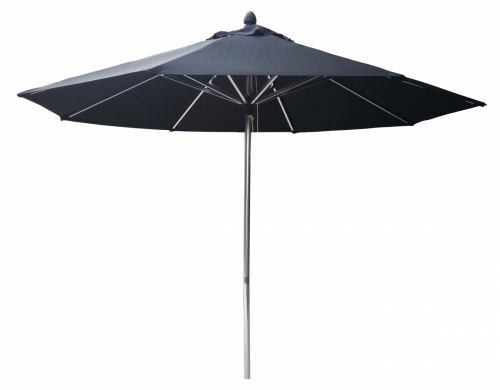 Tuscany Polish Outdoor Umbrella Black 2.7M Polyest