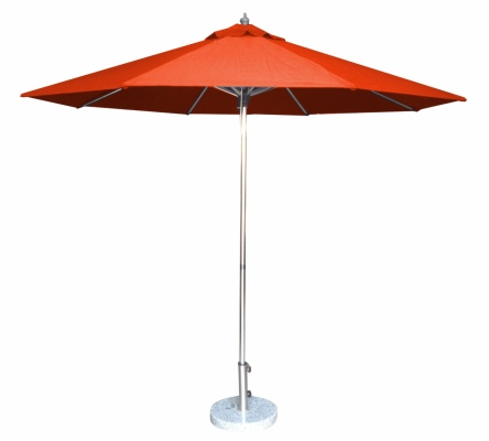 Tuscany Polish Outdoor Umbrella Red 2.7M Polyester