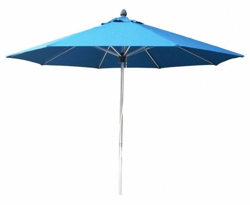 Tuscany Polish Outdoor Umbrella Sky 2.7M Polyester