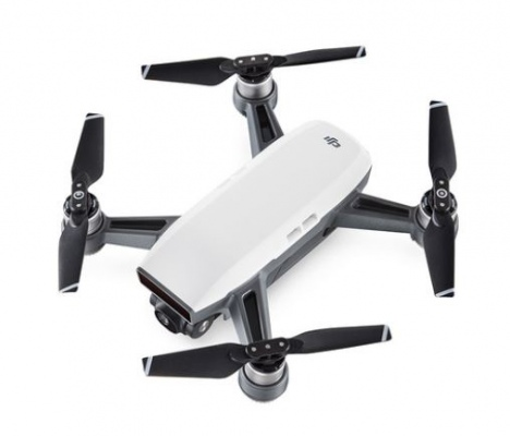 Dji Spark Drone Alpine White Flight Time 16Min