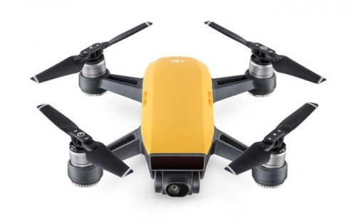 Dji Spark Drone Fly More Combo Sunrise Yellow