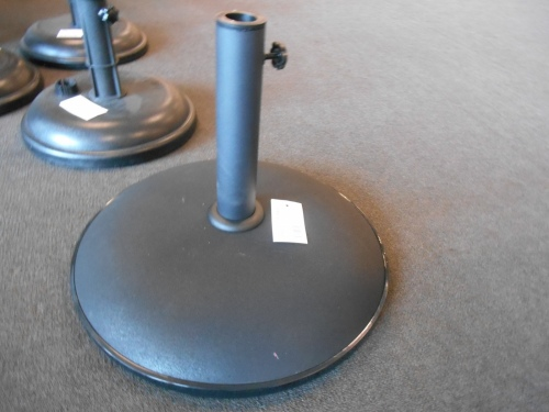 Outdoor Umbrella Base 15Kg Black Concrete