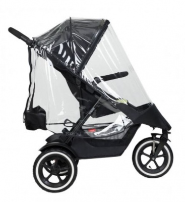 Phil & Teds Dot Sport Dash Double Storm Cover