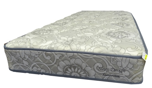 Sleep Design Single Mattress Only Floral Fabric