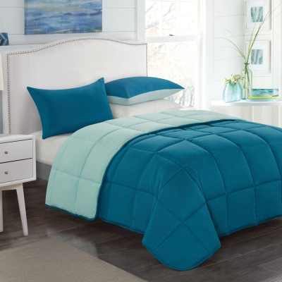 Cloud 9 Sleep Easy Comforter Set King Celes/Blue