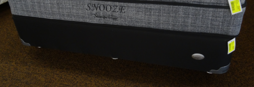 Snooze Queen Base Only Grey Fabric