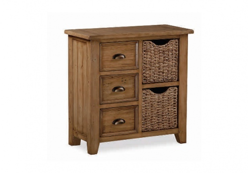 Tacoma Mini Sideboard With Baskets 850X400X850H