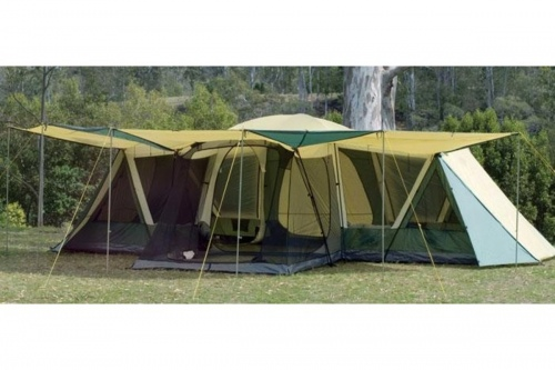 Galaxy Plus 4 Room Polyester Tent