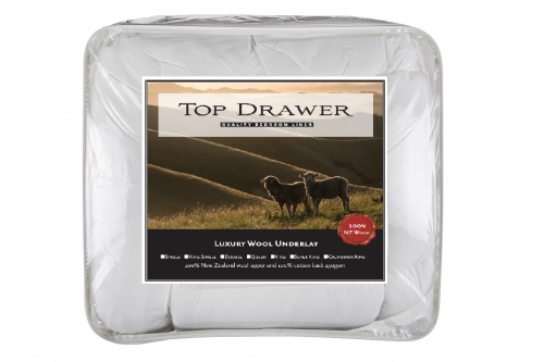 Top Drawer Wool Underlay King Single 107X203Cm