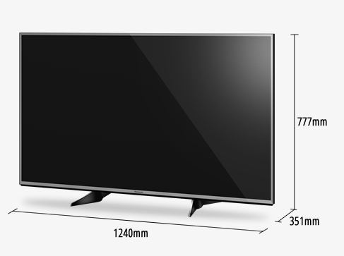 Panasonic 55 Inch 4K Uhd 100Hz Smart Tv Silver