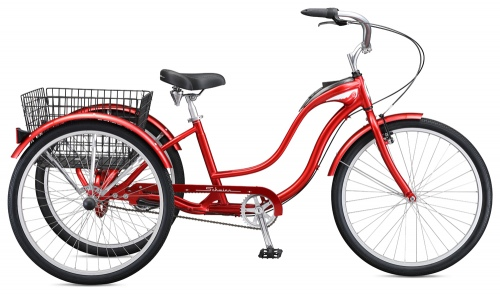 Schwinn Town And Country Classic Red Urban Trike