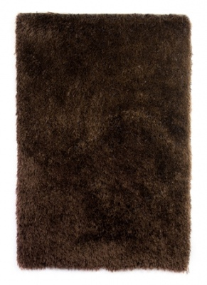 Venus Super Shaggy Large Brown 1.5X2.2M Polyester