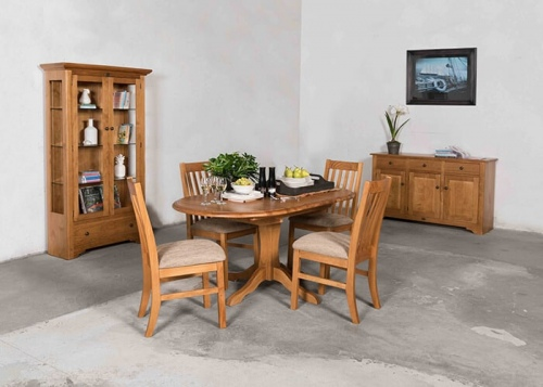 Villager Padded Dining Chair Set Of 6 Maple A Grad