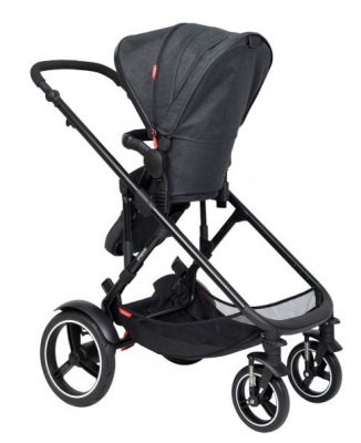 Phil & Teds Voyager Buggy With Blush Liner